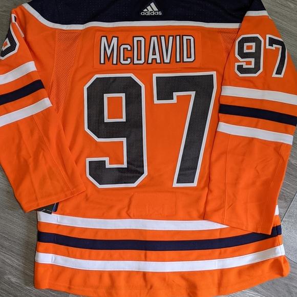 NWT Edmonton Oilers McDavid Jersey - XL (54)